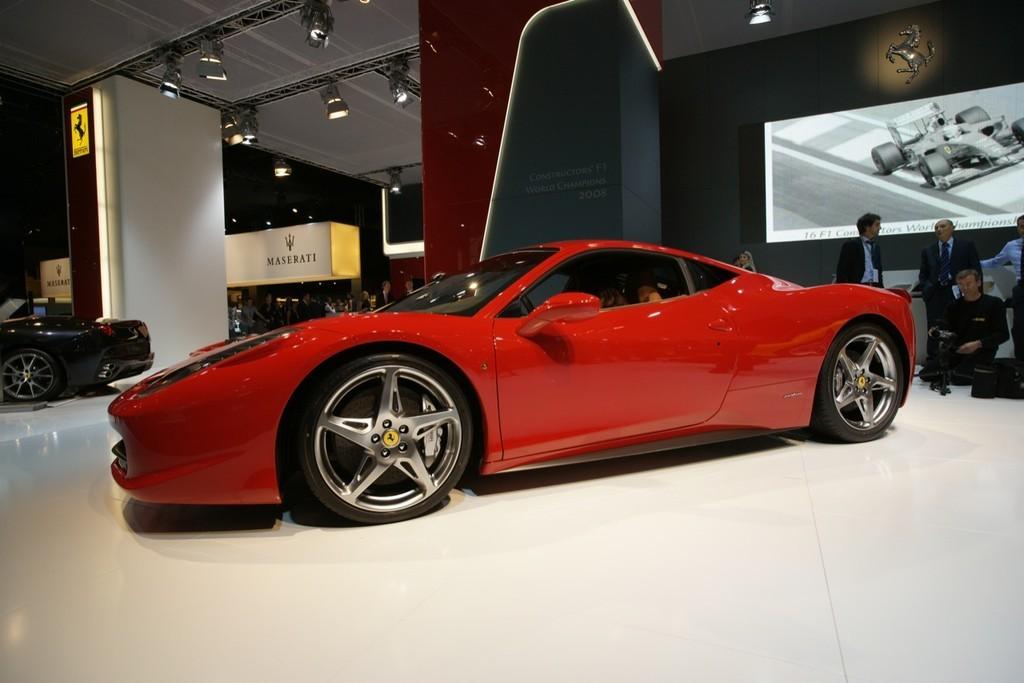 Foto de Ferrari 458 Italia en el Salón de Fráncfort 2009 (1/5)
