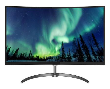 Philips aumenta la diagonal de sus monitores curvos hasta las 32 pulgadas del Philips 328E8QJAB5