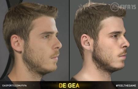 FIFA 15 jugadores más reales