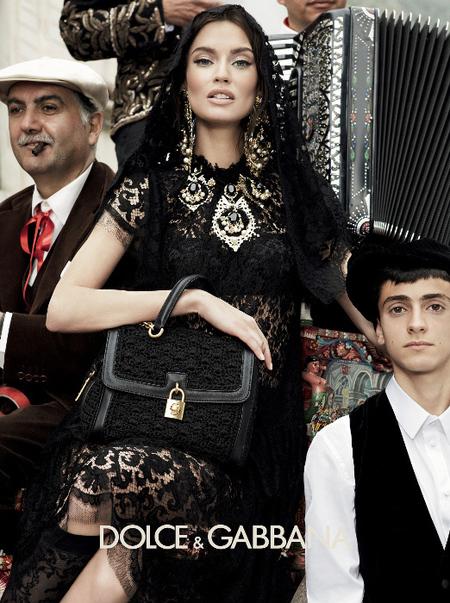 Bianca Balti Dolce & Gabbana Otoño Invierno