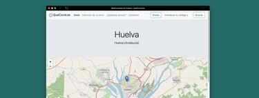 QueCovid.es, una web que informa de las restricciones que hay en tu localidad y código postal por el COVID-19