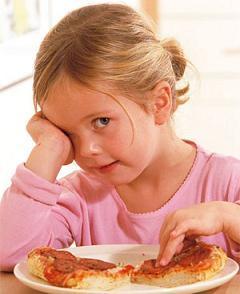 Uno de cada tres niños comen lo que quieren