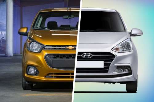 Chevrolet Beat Notchback vs. Hyundai Grand i10 Sedán: : Analizamos dos sedanes 'low-cost'