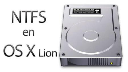 Leer y escribir discos en formato NTFS en OS X Lion, tres opciones