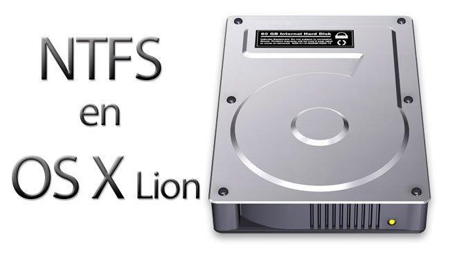 NTFS en OS X Lion