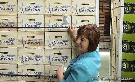 Primer etiquetado de Cebollas Fuentes de Ebro