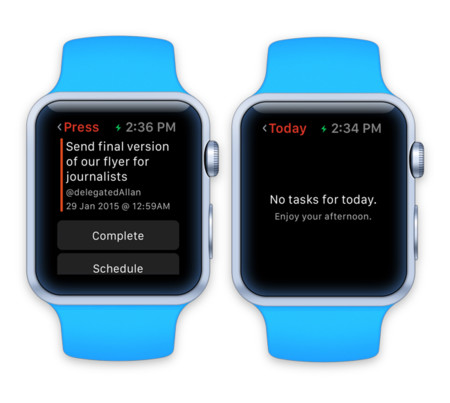 Todoist Apple Watch