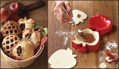 Molde para empanadas en forma de manzana