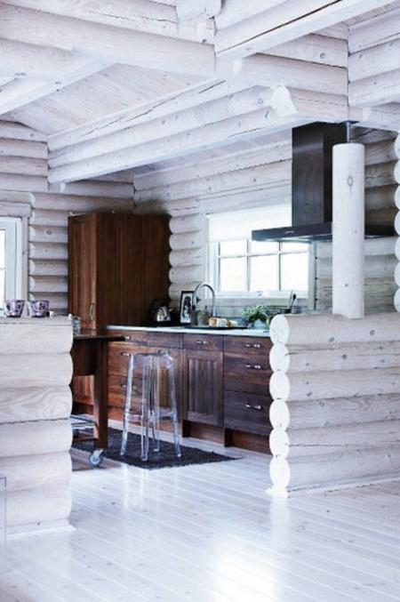 Cabana Nordica Cocina