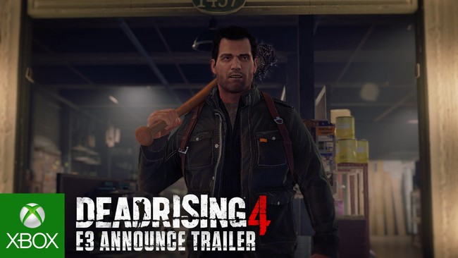Dead Rising 4 E3 Announce Trailer Bq