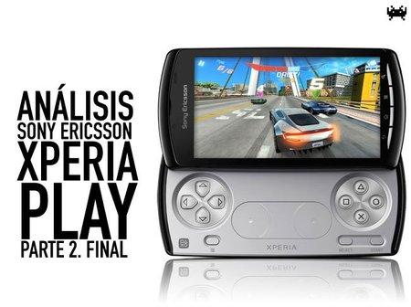 Sony Ericsson Xperia Play, análisis. Parte 2