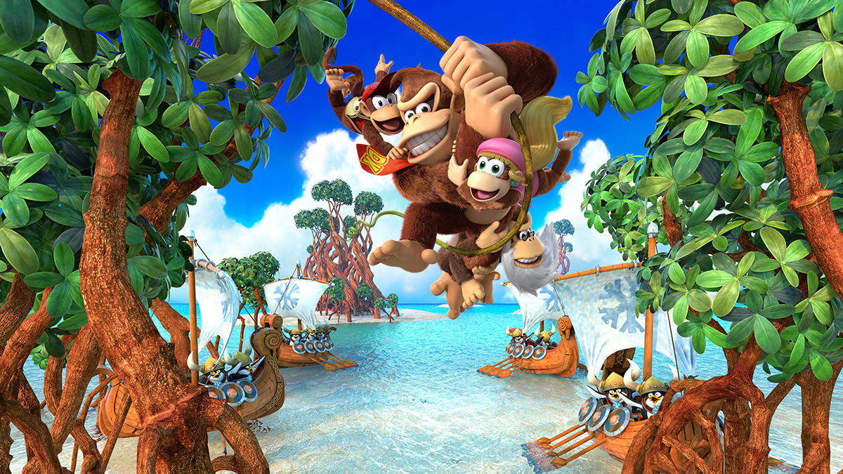 Donkey Kong Country Tropical Freeze Preview Con Experiencia De Juego Y Opinión