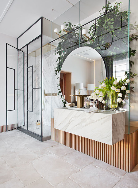 Diseño en el cuarto de baño; cinco tendencias en mamparas de ...