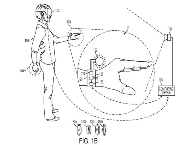 496238 Sony® Playstation Vr Glove Patent
