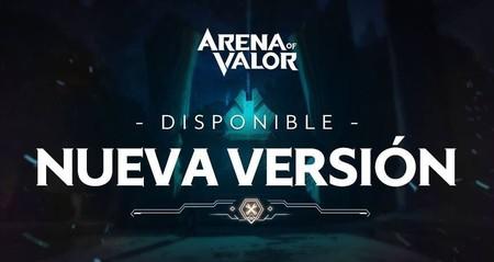 Llega la mayor actualización de Arena of Valor desde su salida
