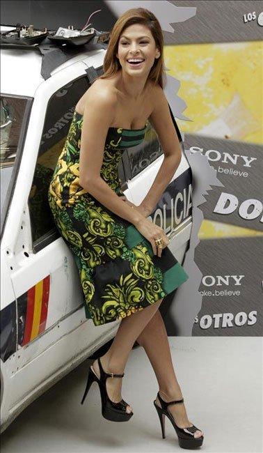 El look de Eva Mendes en Madrid
