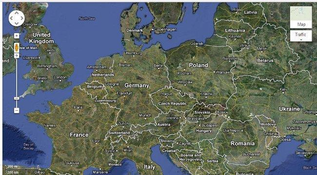Google Maps Alemania