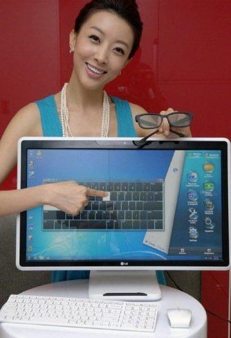 LG pone toda su tecnología en el nuevo todo en uno LG V300 con pantalla 3D y táctil