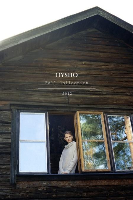 Oysho campaña Otoño-Invierno 2012/2013, ¿quién dijo que sólo nos vestía por dentro?