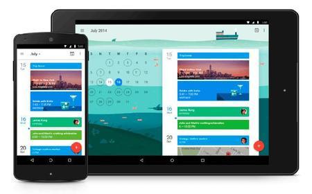 Google Calendar 5.1, ahora con vista de 7 días, integración con Drive y más