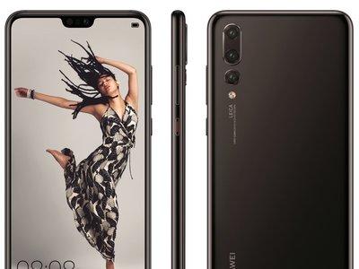La línea Huawei P20 se muestra en todo su esplendor: un modelo con tres cámaras traseras, pero todos con notch