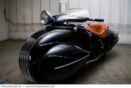 Henderson Custom de 1930, y no es un Scooter de antes de la guerra