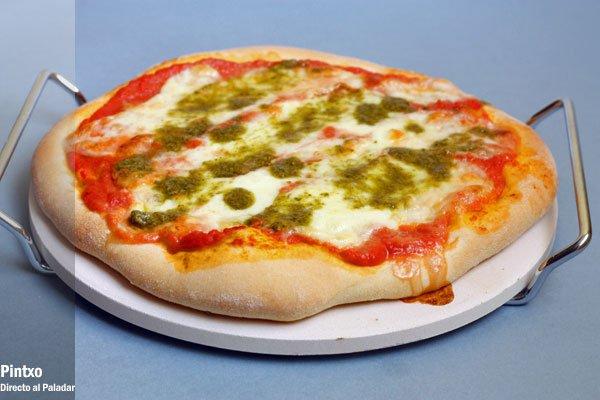 Receta de pizza margarita for Preparacion de margaritas