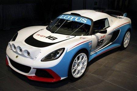 El Lotus Exige R-GT en plena evolución antes de su debut