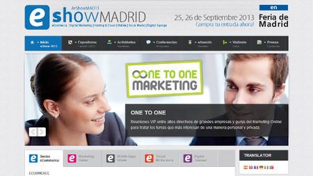 eShow Madrid 2013, la feria sobre comercio electrónico llega la próxima semana