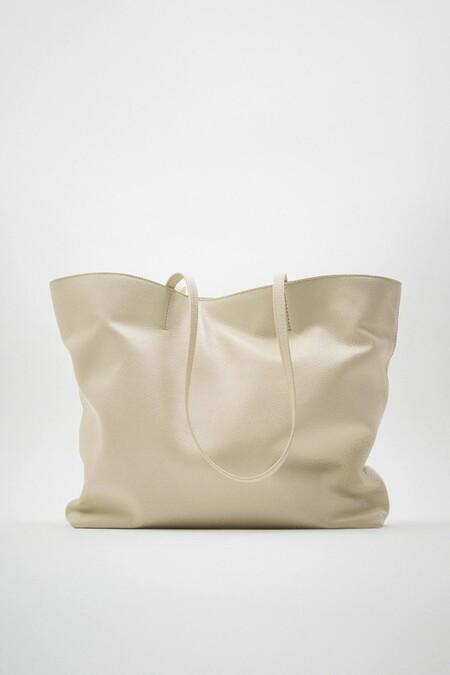 Bolso Piel Zara Xl 02