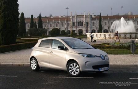 Renault ZOE presentación y prueba en Lisboa