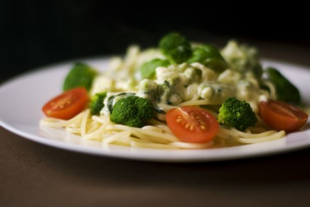 Food Dinner Pasta Broccoli