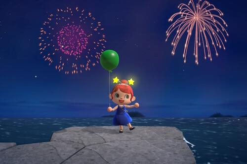 Espectáculo de fuegos artificiales en Animal Crossing: New Horizons: fecha y hora del evento, tómbola de Ladino y más