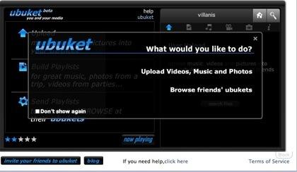 Ubuket, aplicación multimedia para Facebook
