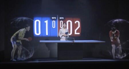 Una empresa japonesa está retransmitiendo en directo competiciones olímpicas… en hologramas con atletas virtuales y en 3D