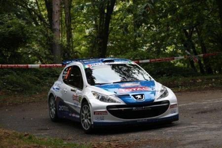 Paolo Andreucci gana el Rally en la exhibición de Juho Hänninen