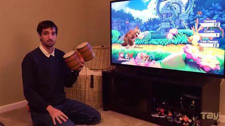 Los Tambores de DK también funcionan en Super Smash Bros. para Wii U