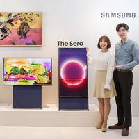 Samsung cree que los millenials queremos ver televisión en vertical, y ha creado The Sero