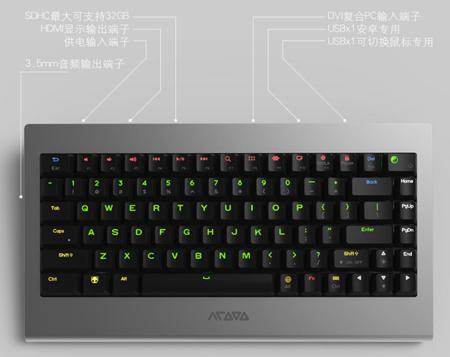 OneBoard Pro+ es un atractivo teclado que esconde un ordenador Android