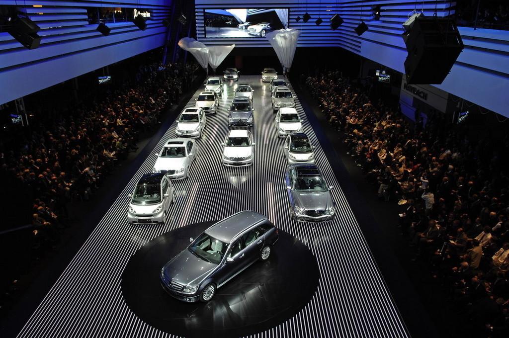 Foto de Salón de Frankfurt 2007: Mercedes Benz (7/18)
