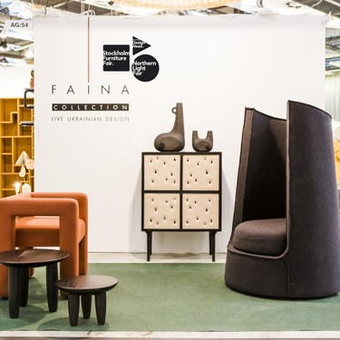 La visión minimalista ucraniana destaca en la Stockholm Furniture & Light Fair 2018