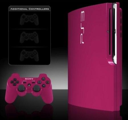 Nuevos colores para la PS3, por Colorware