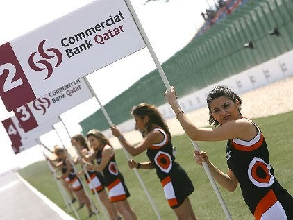 Paddock Girls Qatar 2007