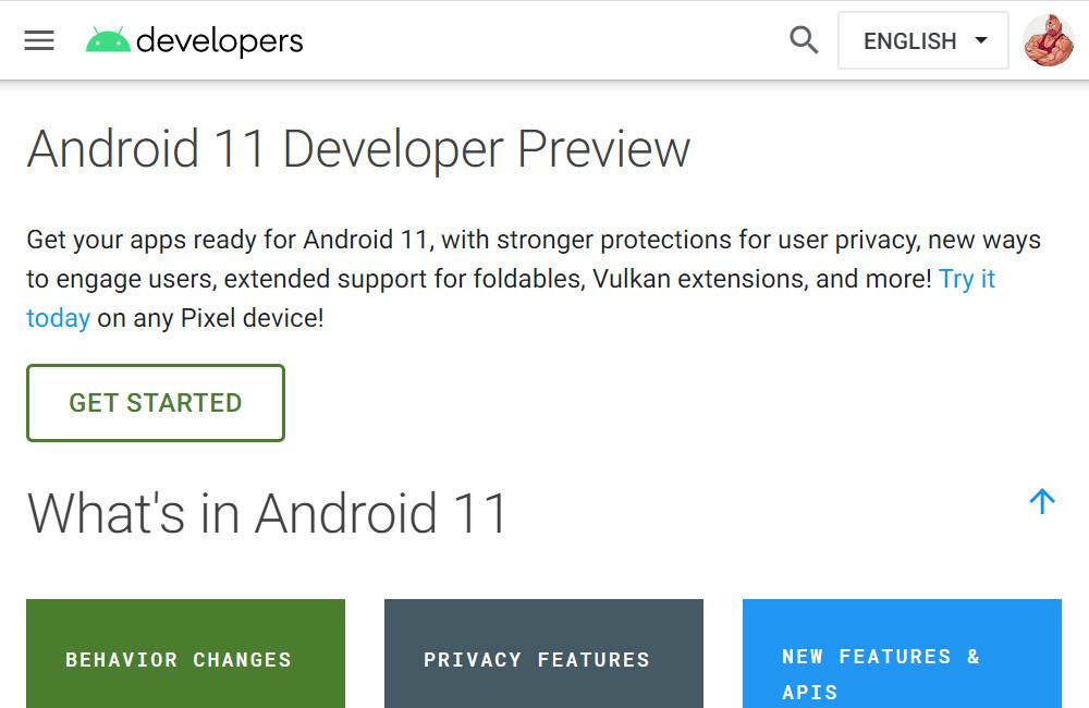 Google podría prorrumpir Android-OS 11 Developer Preview demasiado pronto, ya está preparando su incomunicación web