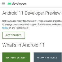 Google podría lanzar Android 11 Developer Preview muy pronto, ya está preparando su sitio web