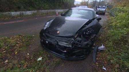 Chris Harris accidente