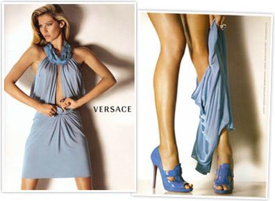 Gisele Bundchen para Versace Primavera/Verano 2008