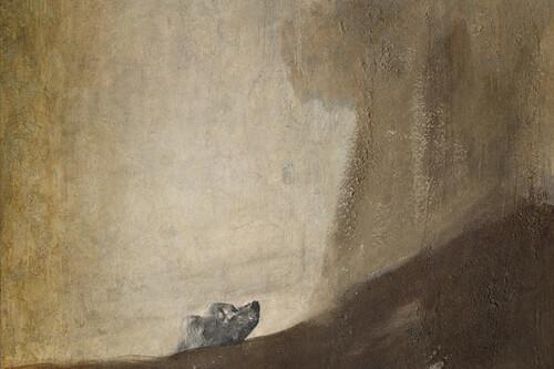 Cuando una fotografía antigua desveló el misterio de una de las pinturas negras de Goya