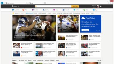 Microsoft renueva MSN por completo y pondrá bajo su marca las aplicaciones de Bing