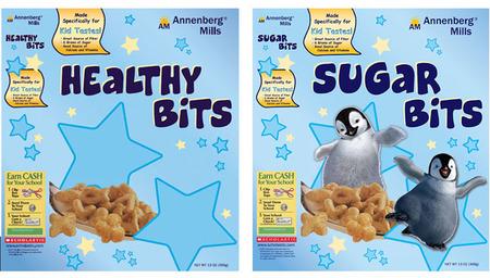 Adivinanza: ¿cuál de estos dos cereales les gustan más a los niños?